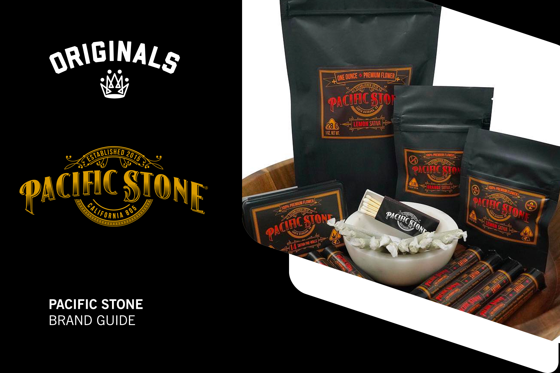 Pacific Stone Brand Guide: Powerful Cost-Effective Cannabis Flower At Originals Factory & Weed Shop