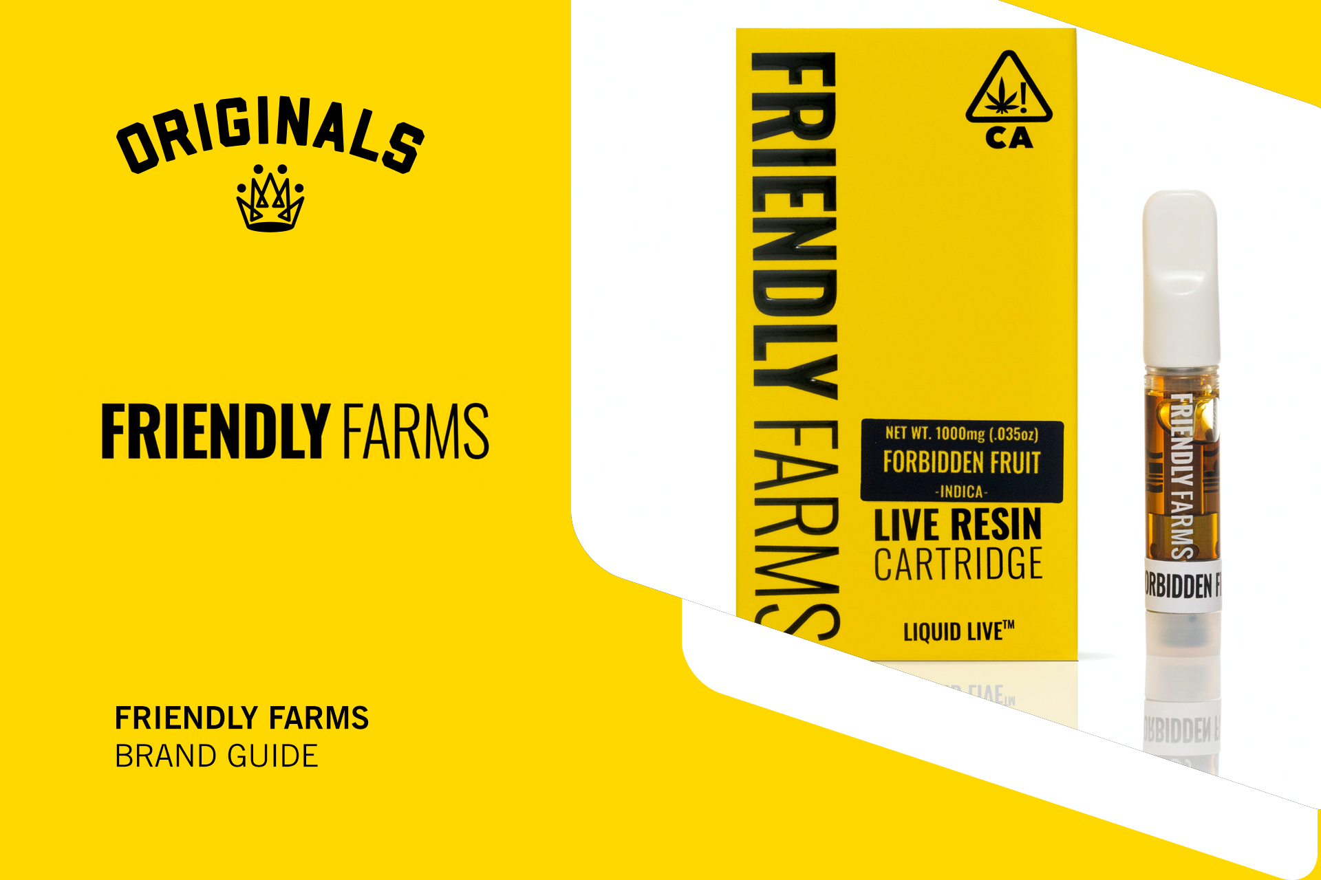 Friendly Farms Brand Guide: Live Resin Vapes, Delicious Dabs, and More At Originals