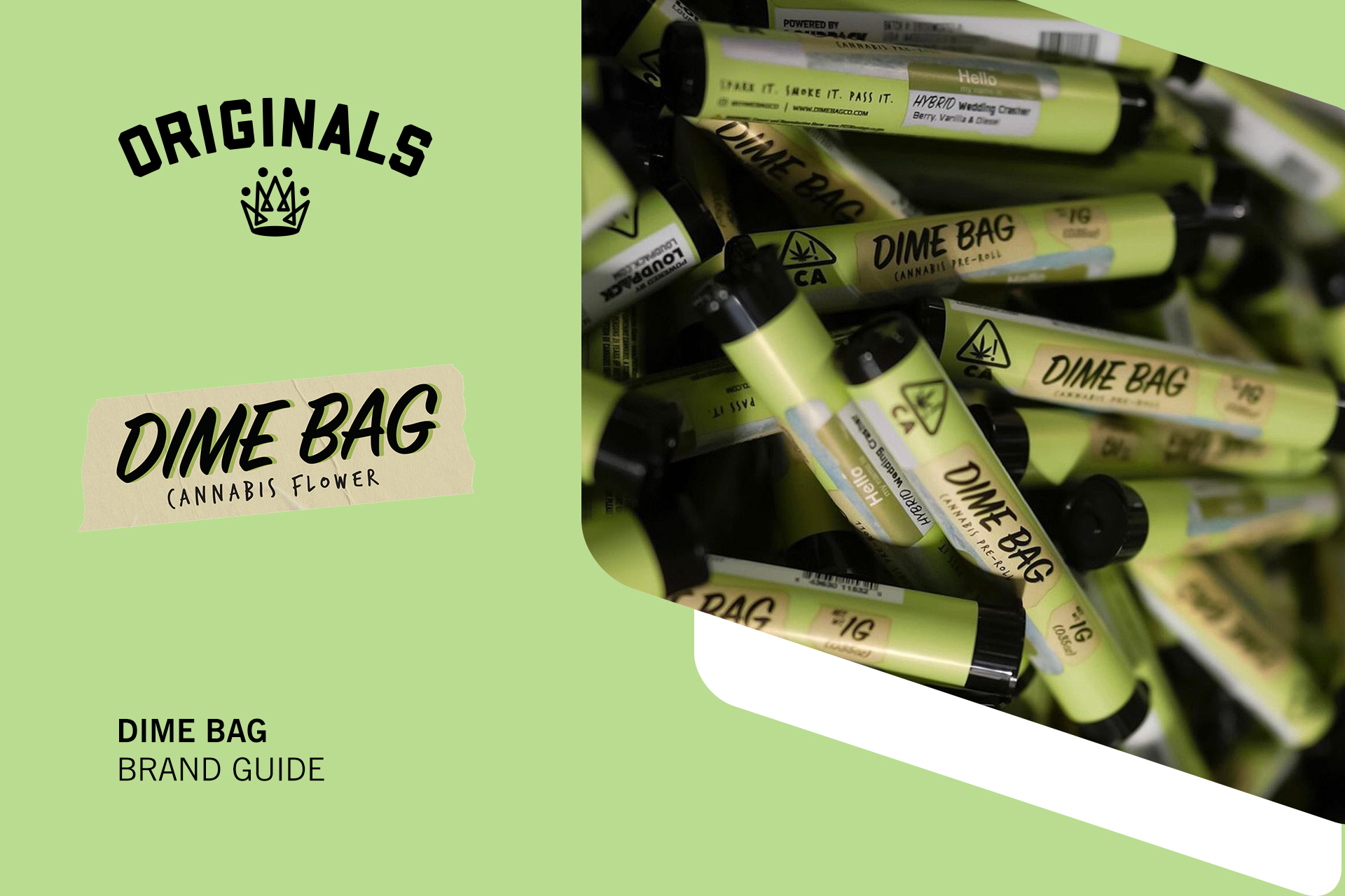 Dime Bag Brand Guide: High Quality Low-Cost Cannabis Products At Originals